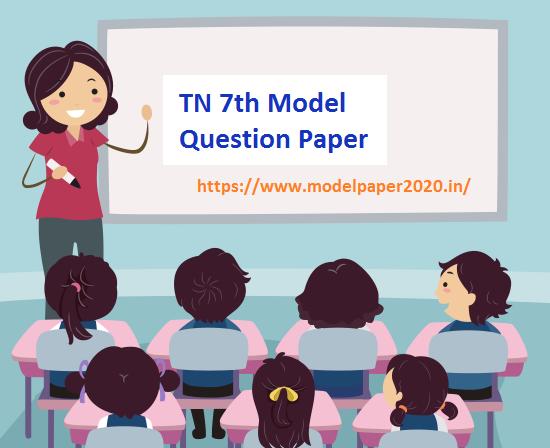 TN 7th Model Paper