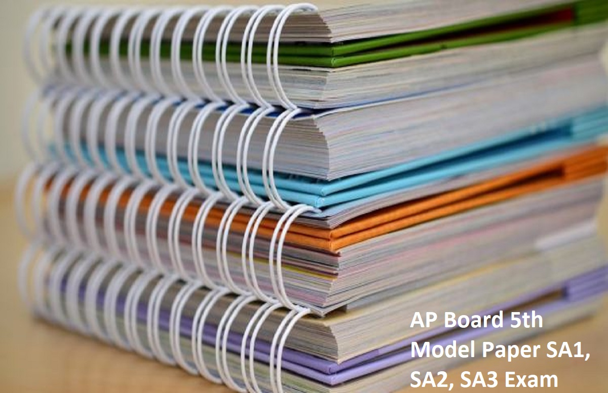 AP Board 5th Model Paper 2020 SA1, SA2, SA3
