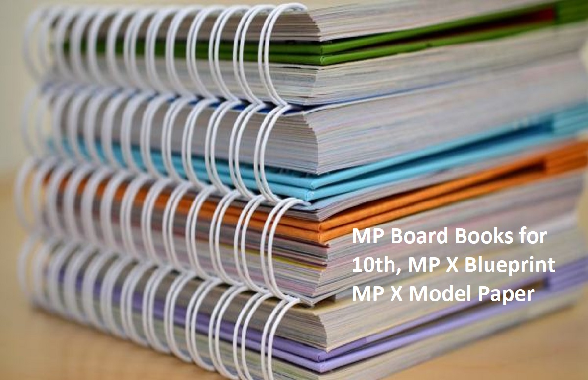 MP Board Books 2020 for 10th, MP X Blueprint 2020 MP X Model Paper 2020